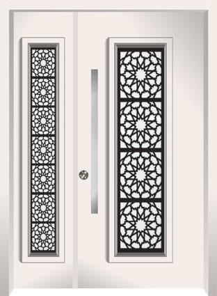 Front doors Almog collection